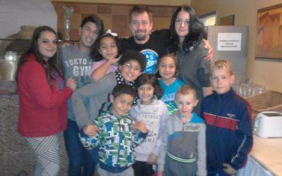 Setkání s hercem Janem Dolanským a jeho rodinou.