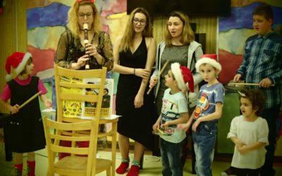Vánoční besídka klidu a pokoje
