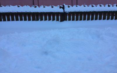 O nejoriginálnější stavbu ze sněhu
