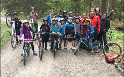 Cyklovýlet na rozhlednu Barenstein 1. 5. 2019